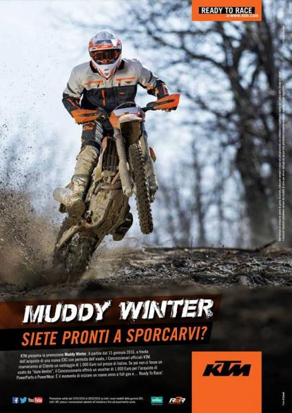 KTM Muddy Winter