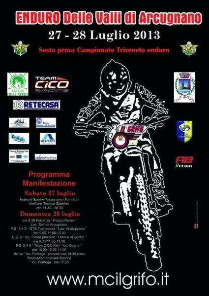 Conclusa con successo la gara enduro triveneto ad Arcugnano (VI)