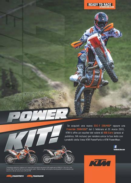 Super promozione POWER KIT KTM
