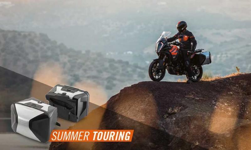 CON SUMMER TOURING PARTI SUBITO A BORDO DELLA TUA 1290 SUPER ADVENTURE S